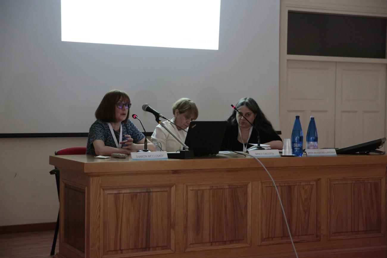 _day three Room A Working session IX (Myra Bluebond-Langner, Nancy Cincotta